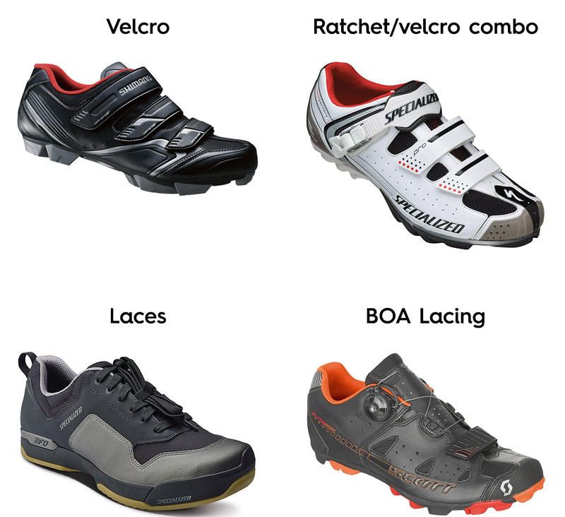 Fastening Systems - How to Choose Mountain Bike Shoes - Athlete Audit