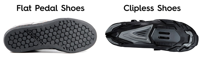 Flat Pedal vs Clipless Shoes - How to Choose Mountain Bike Shoes - Athlete Audit