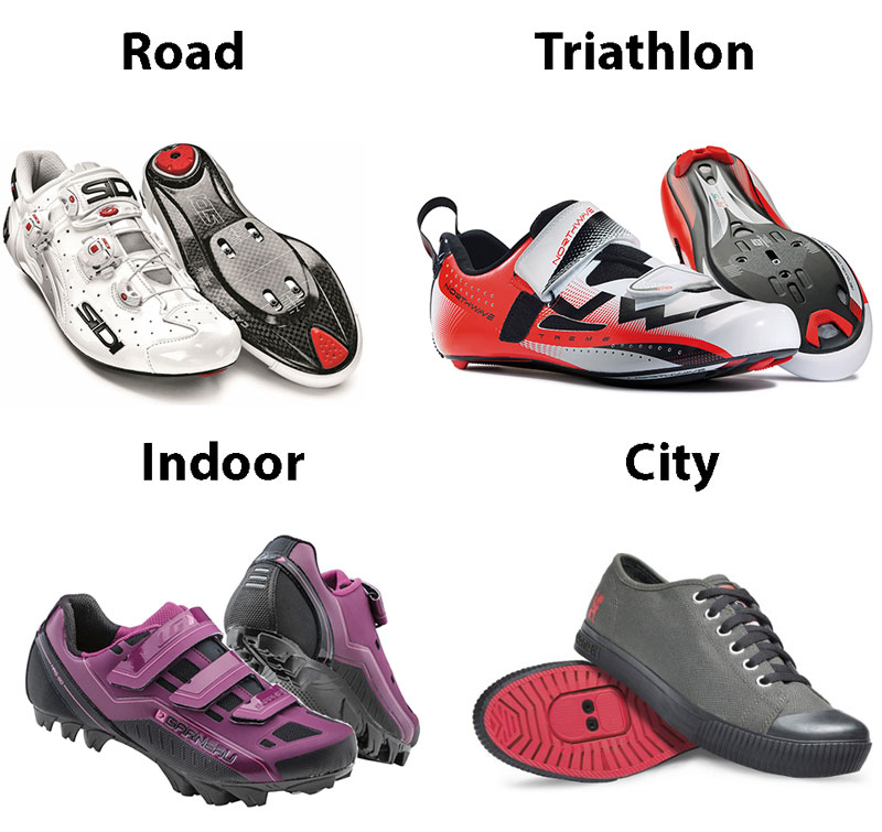 Types of Cycling Shoes - How to Choose Cycling Shoes - Athlete Audit