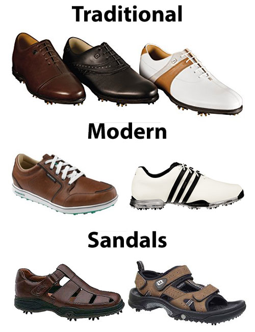 Types of Golf Shoes - How to Choose Golf Shoes - Athlete Audit