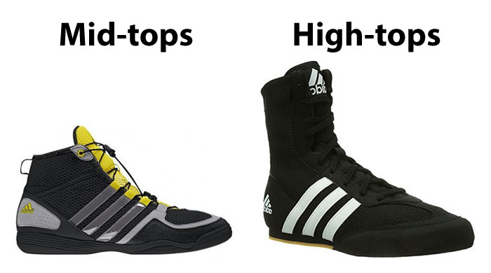 Mid-tops vs High-tops - How to Choose Boxing Shoes - Athlete Audit
