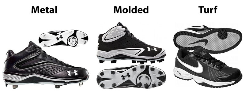 Stud Types - How to Choose Baseball Cleats - Athlete Audit