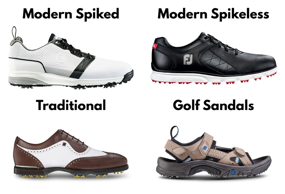 Types-of-Golf-Shoe-Styles---Athlete-Audit