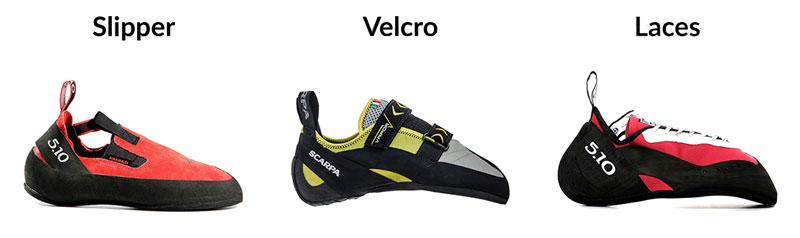 Lacing Systems - Definitive Climbing Shoe FAQ - Athlete Audit